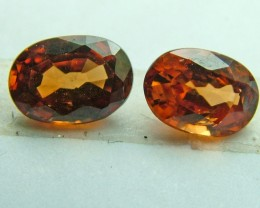 SPESSARTITE GARNET FACET STONE PARCEL 2.10 CTS 2 PCS AS-504