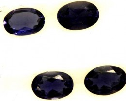 IOLITE FACETED STONE (2PAIR) 1.35 CTS  PG-1299
