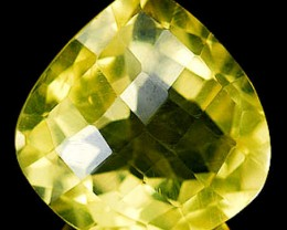 9.84 Carat VVS Brazilian Cushion Cut Quartz Gem