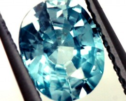 BLUE ZIRCON FACETED STONE 1.15 CTS  PG-1251