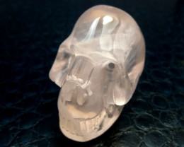 ARTISTIC ROSE CRYSTAL  GEMSTONE SKULL328.80  CTS RT 1818