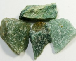 22.2CTS GREEN AVENTURINE ROUGH  TW 1302