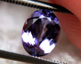 1.46 Carat VVS1 African Tanzanite - Superb