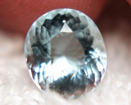 1.83 Ct. Vivid VVS1  Blue Beryl Aquamarine - Superb