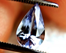 1.45 Carat IF/VVS1 Blue Tanzanite - Superb
