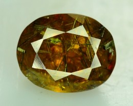 4.45 ct  EARTHMINED UNTREATED RUTILE SPHENE