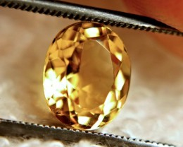 2.397 Carat VVS1 Golden Beryl - Gorgeous