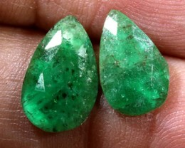 EMERALD PAIR 2.45 CTS BG-183