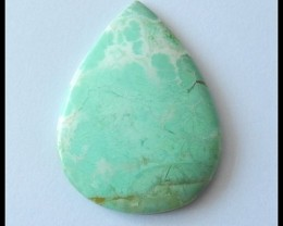 45.35 ct Natural Chrysoprase Gemstone Cabochon