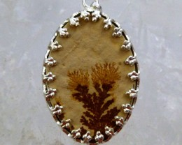 FERN LEAF FOSSIL PENDNAT 15.70  CTS RT 881