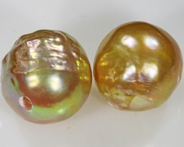 10 mm  graded high luster pair pearl    PP394