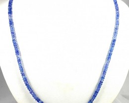 78CT TANZANITE FACETED BEADS LINE FOR COLLECTION