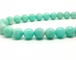 10MM AMAZONITE NEON BLUE BEADS STRANDS FOR COLLECTION3