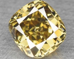 0.44 Cts Natural Light Green Yellow Diamond