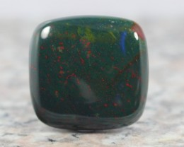 43Ct NATURAL Green with Red spot BloodStone CABOCHON STONE