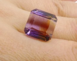 12.91 ct Square Ametrine
