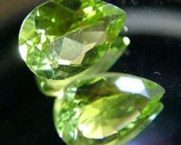 PERIDOT NATURAL FACETED STONE 1.25 CTS FN 3254 (TBG-GR)