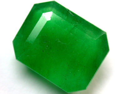Quartz Emerald Green colour   8.90  carats   QU 225