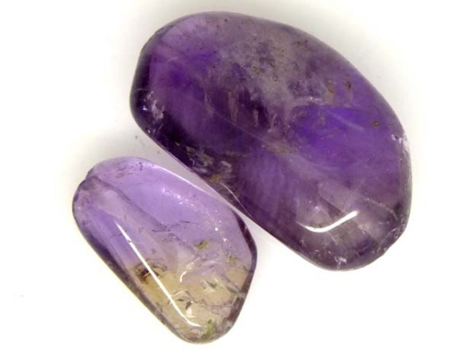 AMETHYST BEAD NATURAL 2 PCS 21 CTS  NP-1355