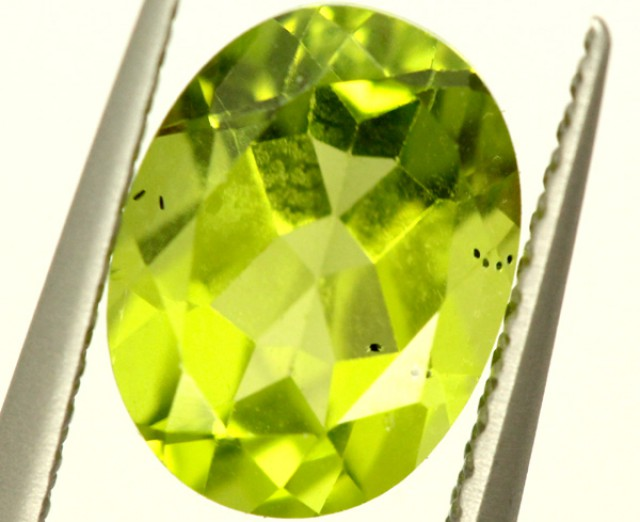 PERIDOT FACETED STONE 1.50 CTS PG-953
