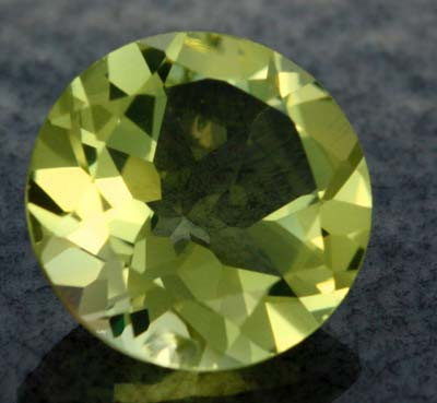 VS LEMON QUARTZ ROUND CUT 5.30   CTS [S618 ]
