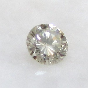 0.27ct 4.1 mm VS Untreated Natural Light Brown DIAMOND