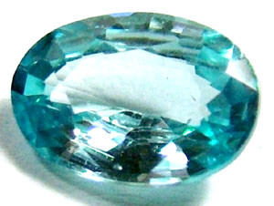 BLUE ZIRCON FACETED STONE 2 CTS   PG-1013