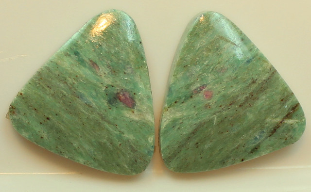 17.50 CTS VARISCITE PAIR OF STONES FROM AUSTRALIA