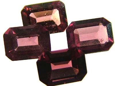VS  RHODOLITE GARNET  4 PIECES 4.7CTS [S1668 ]