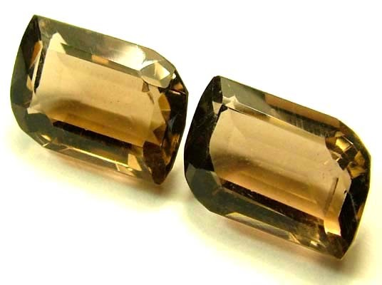SMOKY QUARTZ NATURAL STONE 14 CTS FN 4113 (TBG-GR)